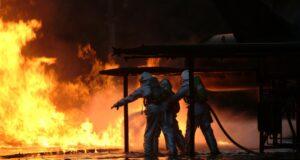 Пожежа у торгівельному центрі